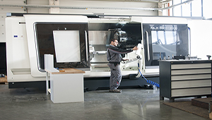 Nakmash- 97 commissioning new lathes DMG MORI 6000/2000